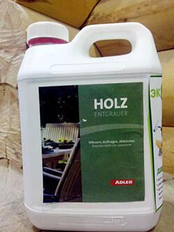 Пропитка ADLER-Holzentgrauer