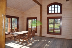 Интерьер деревянного дома_2