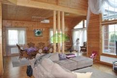 Интерьер деревянного дома_4