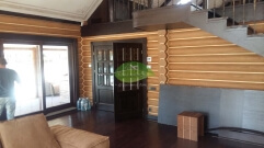 Интерьер деревянного дома_5