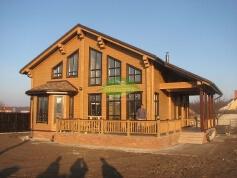 Деревянный дом из клееного бруса_6